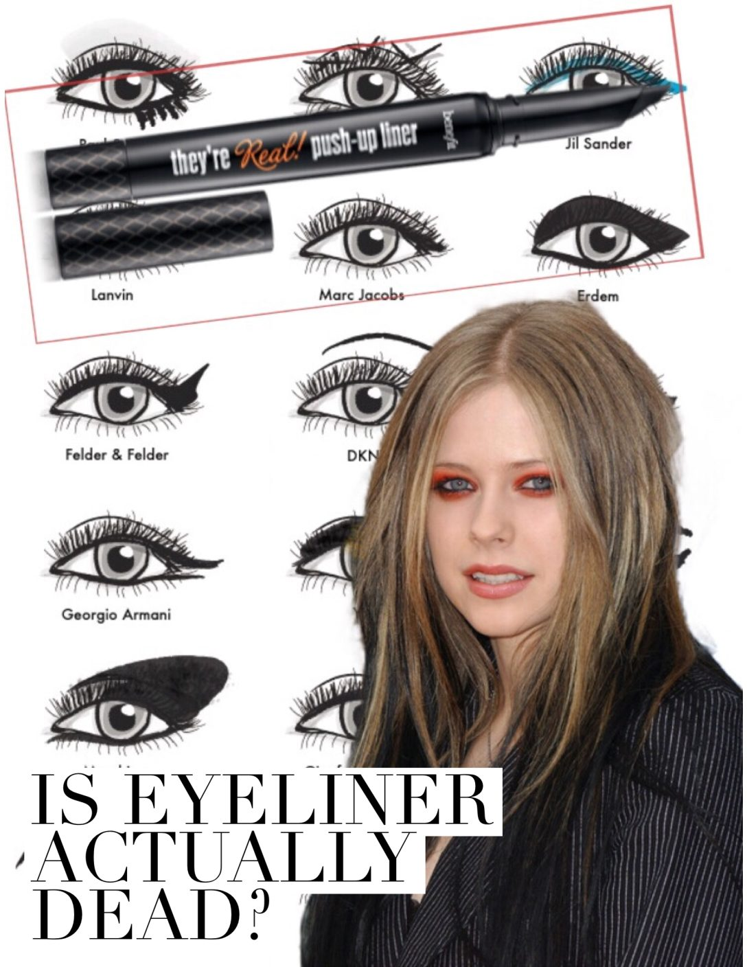 IS EYELINER ACTUALLY DEAD | 2017