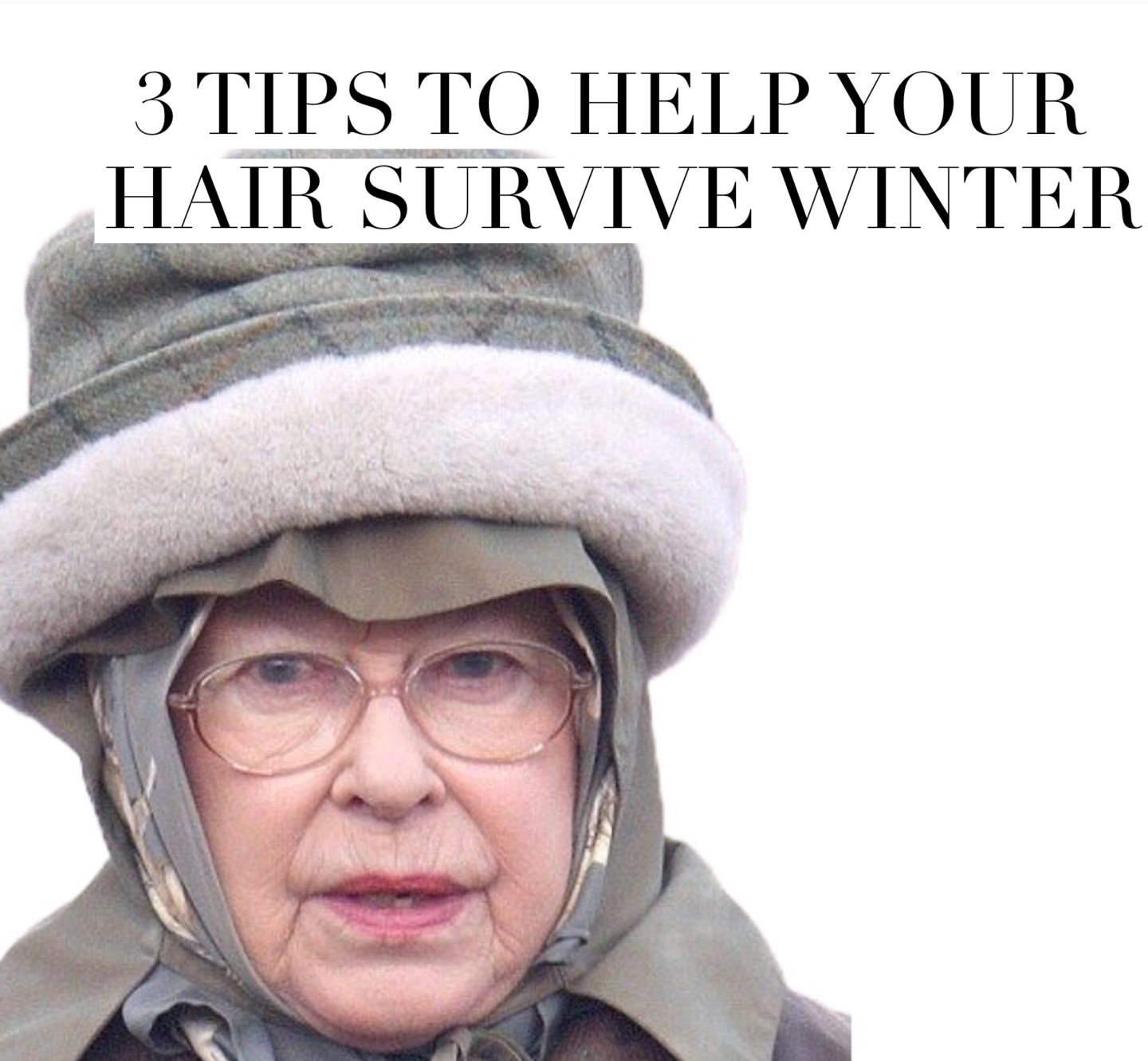3 TIPS TO HELP YOUR HAIR SURVIVE WINTER   2017