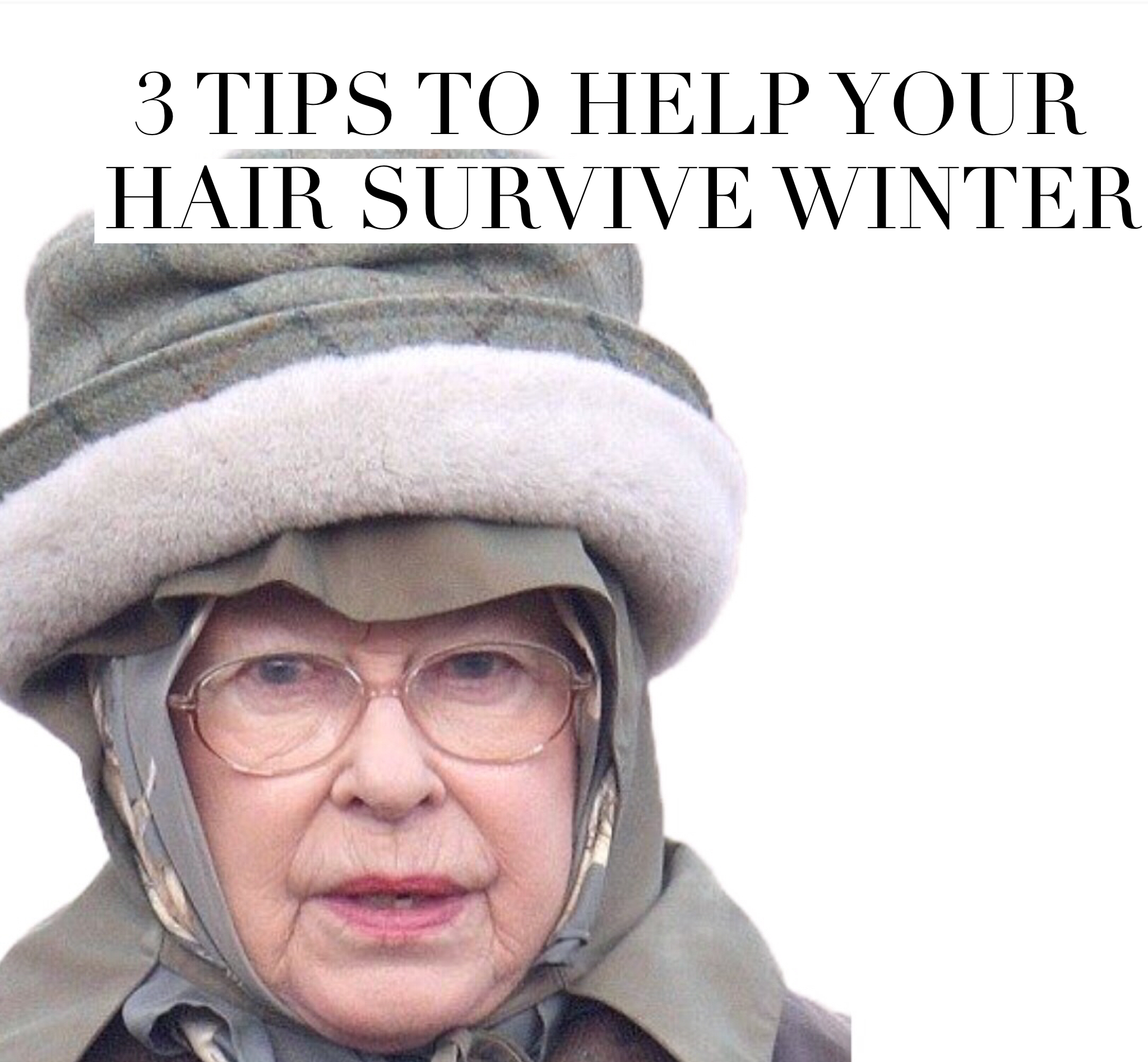 3 TIPS TO HELP YOUR HAIR SURVIVE WINTER | 2017