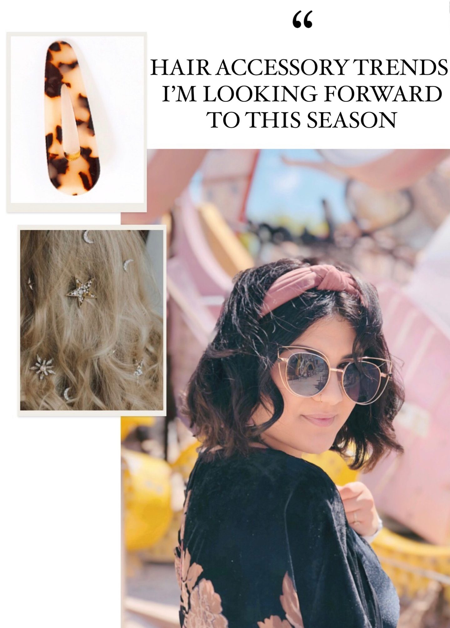HAIR ACCESSORY TRENDS I'M LOOKING FORWARD TO THIS SEASON  2019