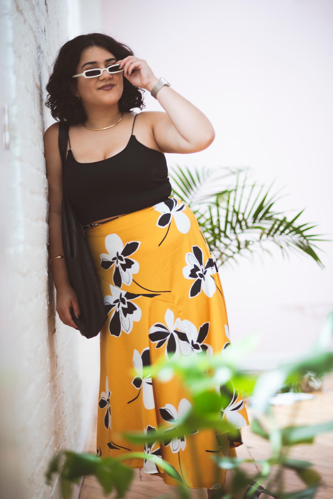 the yellow skirt |2019